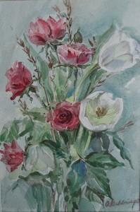 Boeketje rozen