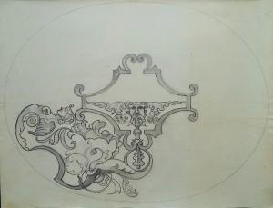Decoratief bloemenpatroon met bladmasker