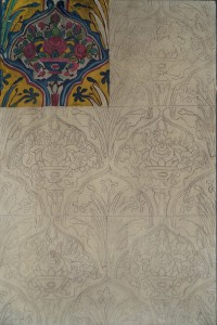 Decoratief bloempatroon
