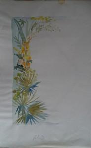 Decoratieve bloemenrand, plt. 3