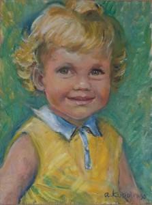 Portret van Desiree