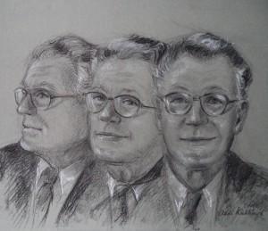 Drie studieportretten