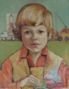 Portret van Fred Kubbinga