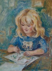 Portret van Daphne