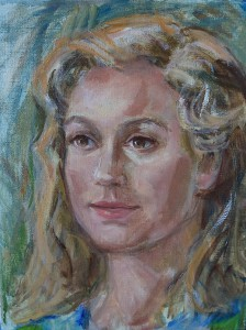 Portret van Desiree Kubbinga