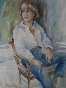 Portret van Juliet Kubbinga