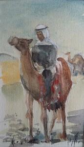 Arabier op een kameel