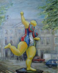 Beeldententoonstelling Lange Voorhout Nicky St. Phalle