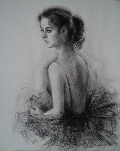 Ballerina Agnes Hylkema