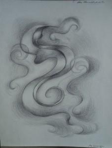 Abstract figuur ('het zwierige')