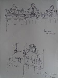 Amsterdam, Keizersgracht 135, 137, 139, Blauwburgwal, Hendrick de Keyser