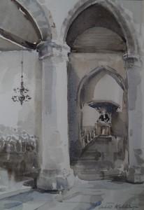 Dorspkerk Wassenaar interieur