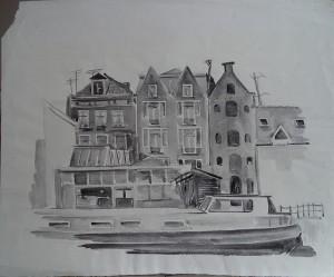 Amsterdamse pakhuizen