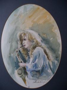Candy Dulfer en haar Saxofoon