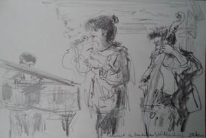 Concert in Kasteel Wittenburg