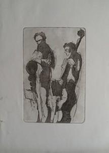 Bassist en Saxofonist