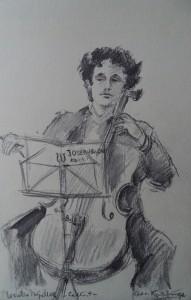 Cellist Wouter Meijnders