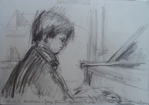 Christopher Devine, jonge pianist