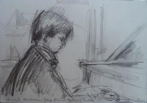 Christopher Devine, jonge pianist