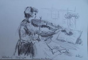 Concert in de Wittenburg met Annemijn den Herder