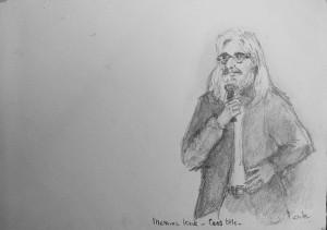 Cees Otte, zang in Messias kerk