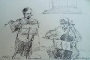 Bach-concert, Dorpskerk Wassenaar