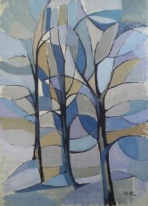 Bomen (geabstraheerd)