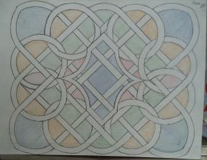 Keltisch motief fase 4