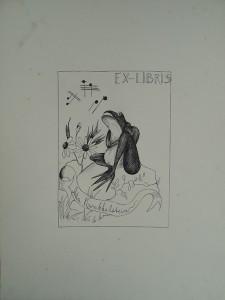 Ex-Libris ontwerp Ada Kwakkelstein