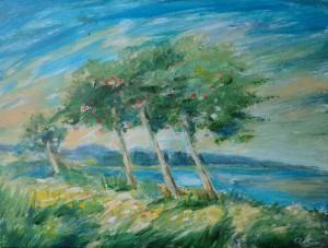 De Schepping: Aarde wordt begroeid met jong groen en bomen