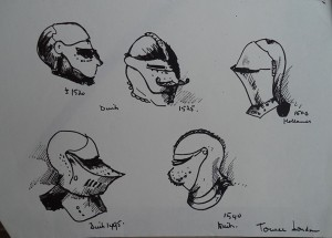 Geschiedenis van helmen, Tower of London
