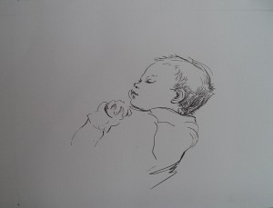 Kopie Slapend babytje