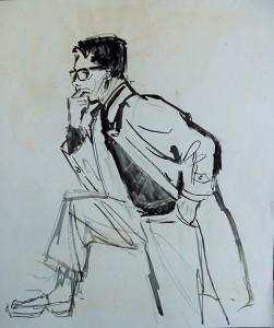 Fred Kubbinga, poserend