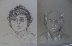 Dubbelportret van Joan en Antonie Claassen