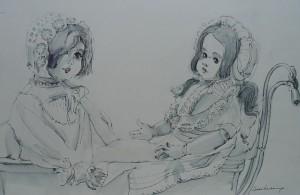 Twee popjes