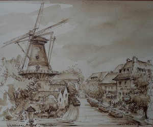 Molenplein te Wassenaar