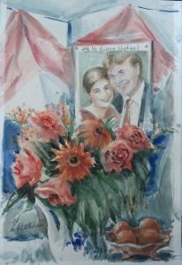 Huwelijk kroonprins Willem-Alexander en Maxima
