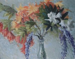 Boeket met zomerbloemen